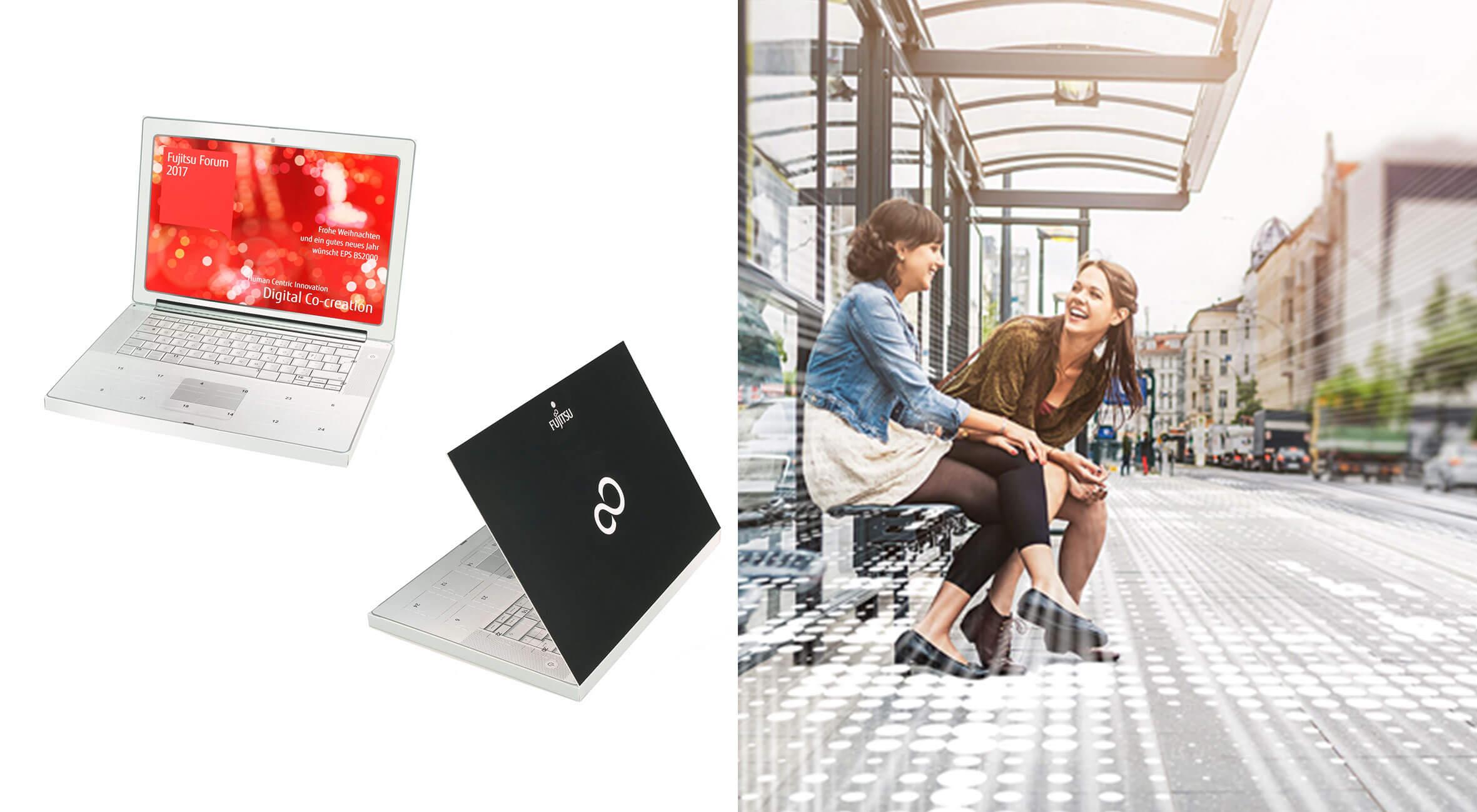 EIDEX Showcase Werbemittel Fujitsu