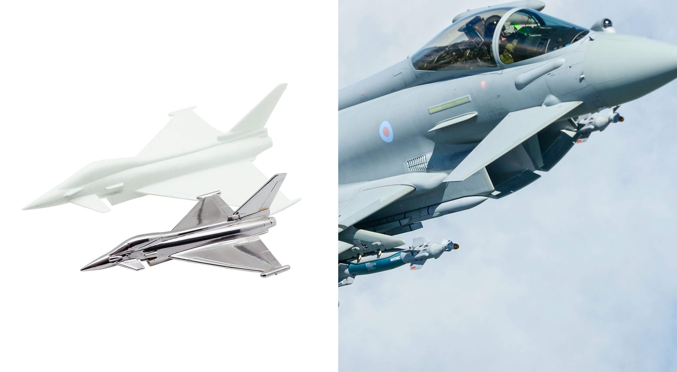 EIDEX Showcase Werbemittel Eurofighter