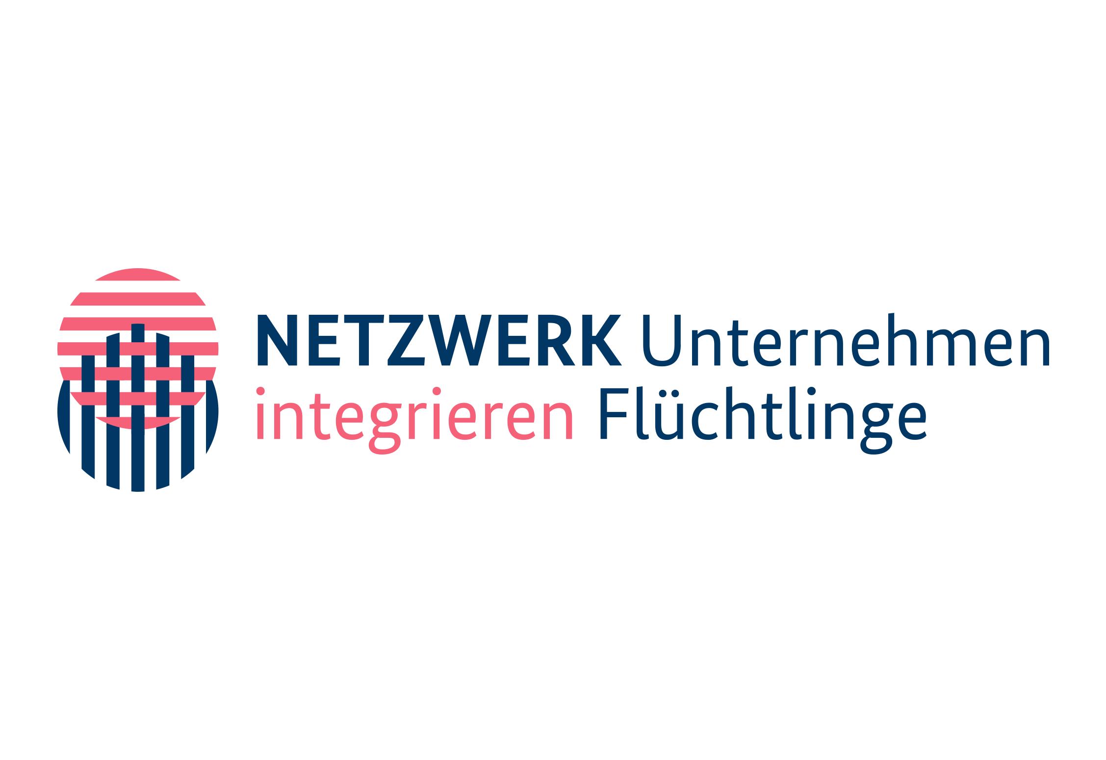 Netzwerk Unternehmen integrieren Flüchtlinge EIDEX Werbemittel