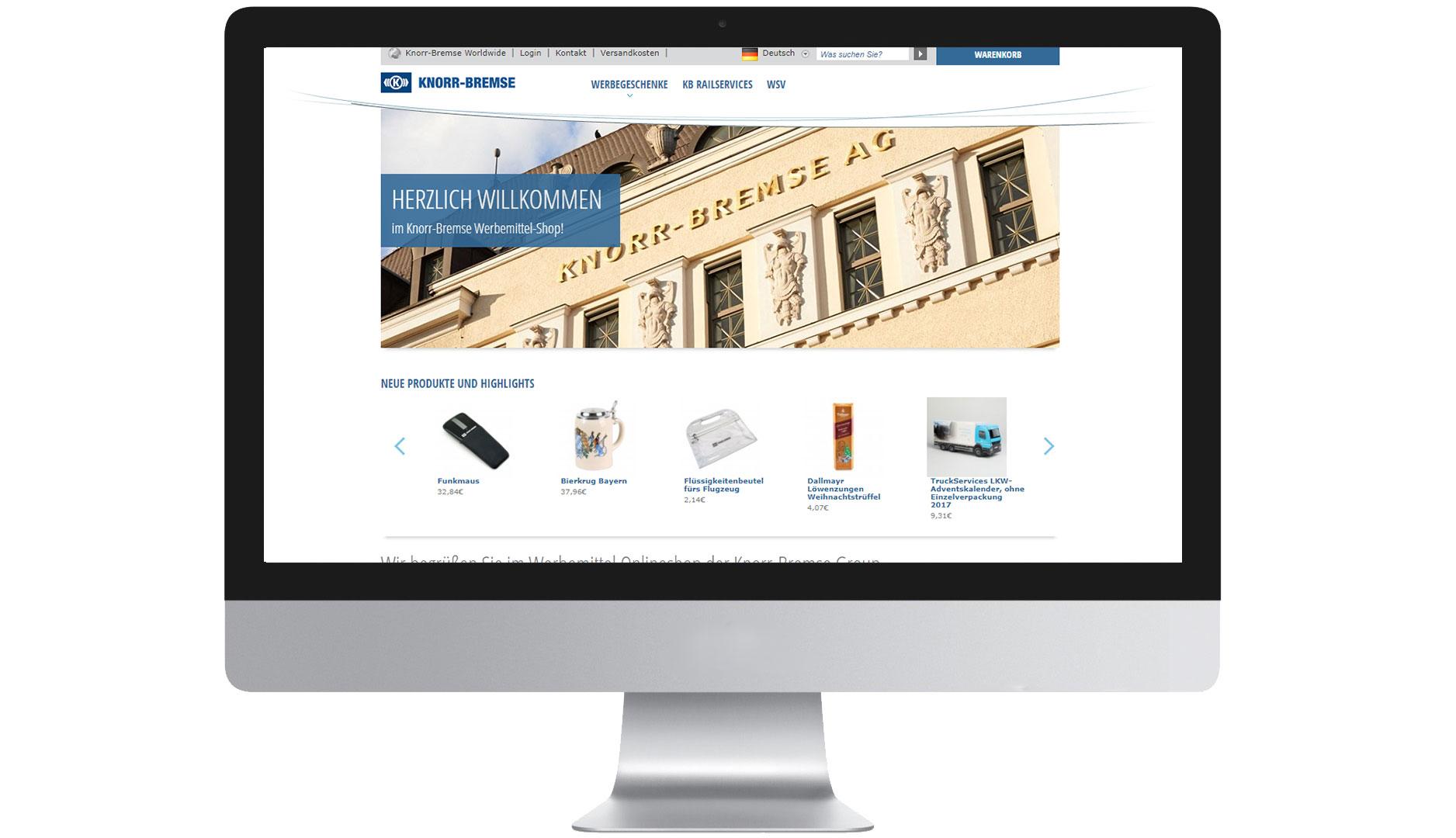 EIDEX Shopsysteme Knorr Bremse