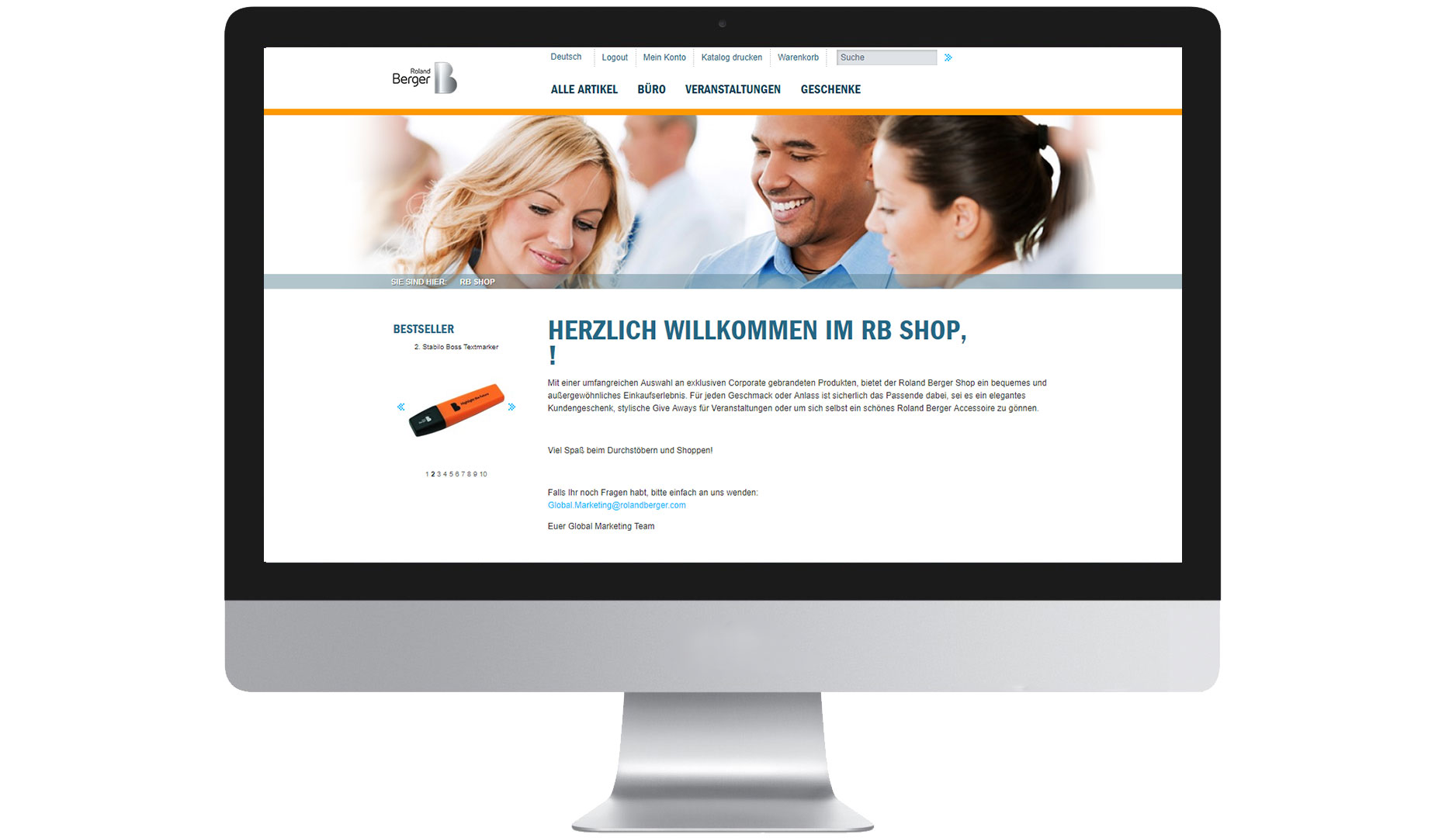 EIDEX Shopsysteme Roland Berger