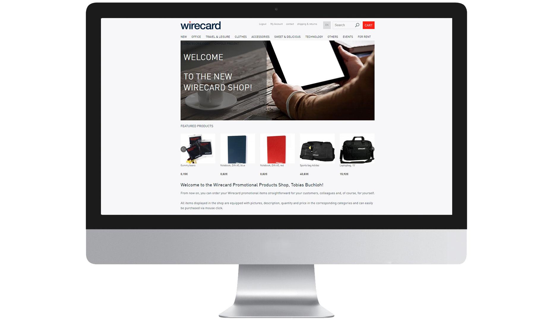 EIDEX Shopsysteme Wirecard